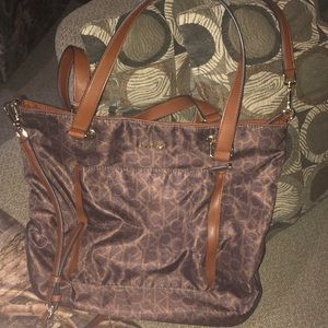 Authentic Calvin Klein crossbody Purse